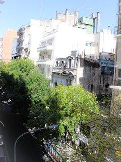View from window: Ecuador Street