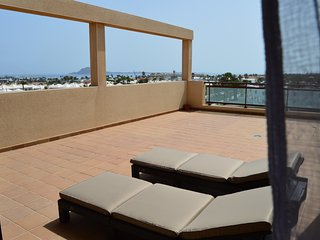 apartment sea views, close main street, Corralejo.