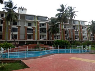 2BHK Luxurious Service Apartment with Huge Balcony, Candolim