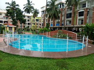 2BHK Service Apartment with Garden View