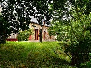 Mon Savoureux Jardin : Gîte 4/8 personnes en Anjou