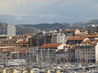 Appartement quartier historique de Marseille .
