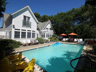 Luxury In-town Edgartown Home with Pool