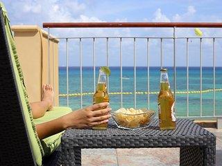 Ocean Front 3 bedrooms condo El Faro Residences