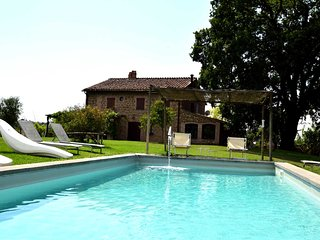 Detached villa with private pool near wineyards, Otricoli