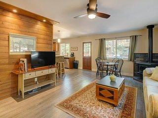 Beautifully remodeled mountain home with peaceful, private setting