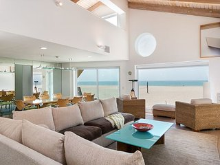 Upscale Beachfront Home with Channel Island Views from 3 Breezy Decks