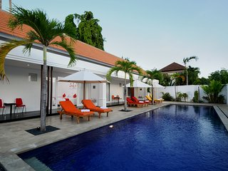 Quiet & Spacious: Apt Merah: 1 bed with shared pool: Cool Bali Villas