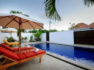 Quiet & Spacious: Apt Jeruk 1 bed with shared pool: Cool Bali Villas