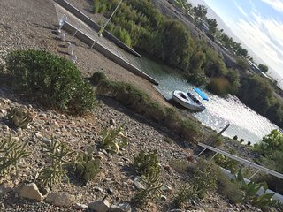 On the island in Lake Havasu (D11)