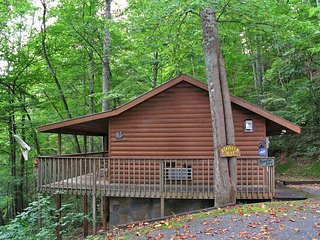 Rooster Way, 1 Bedroom, Jetted Tub, Flat Panel TV, Fireplace, Sleeps 2, Sevierville