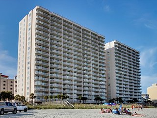 LuxuryDIRECT oceanfront 3bd/3ba condo, North Myrtle Beach