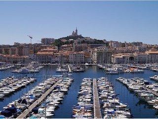 T2 vue et emplacement exceptionnels vieux port