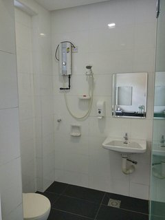 Bathroom attached