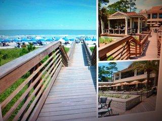 new seapines beach club 8 minute walk