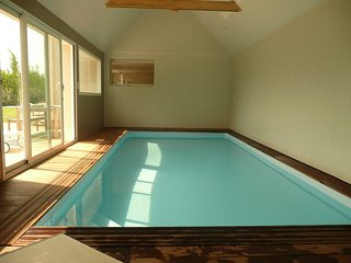 Villa de charme 14 pers. avec piscine interieure