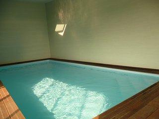 Villa les Ebihens 14 pers piscine intérieure