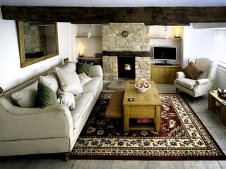The well proportioned living room