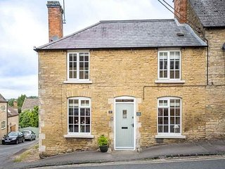 The Smithy is a beautiful Cotswold stone cottage, on the corner of a quaint road