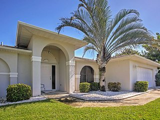 'Sunset House' 3BR Cape Coral House w/Private Pool