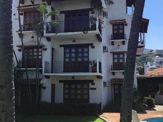 Ocean view studio at Casa Claudia, Puerto Vallarta
