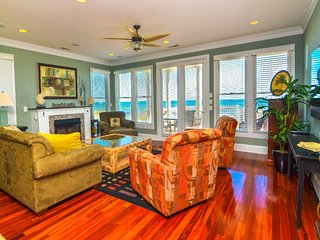 HEAVEN CAN WAIT 6 BR Oceanfront Townhouse, Kure Beach
