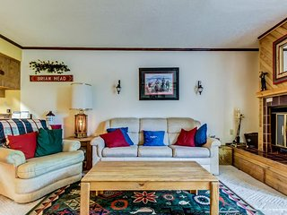 Secluded dog-friendly condo w/jetted tub, 2 porches + close proximity to slopes!