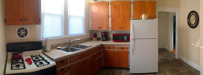 Whip up your favorite culinary delights in this newly refinished kitchen.