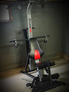 Need a work out?  Pump it up with the BowFlex home gym!  Not enough?  We are short walk from the gym