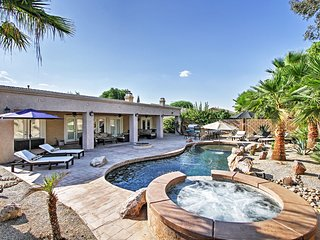 Modern 4BR Indio Home w/Saltwater Pool!