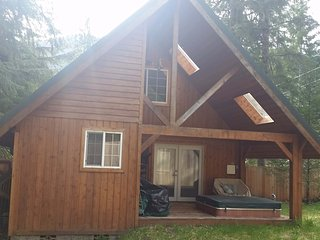 Juniper Cabin at Mount Rainier, Private Hot Tub, Ashford
