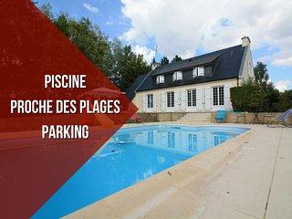 PROCHE DES PLAGES + PARKING + PISCINE