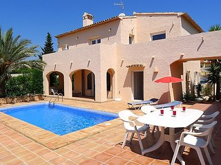 6 bedroom Villa in Calpe, Costa Blanca, Spain : ref 2023518, La Llobella