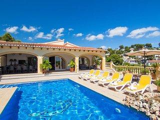 4 bedroom Villa in Benissa, Costa Blanca, Moraira, Spain : ref 2031768