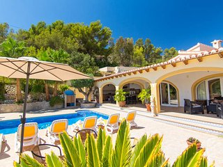 4 bedroom Villa in Benissa, Costa Blanca, Moraira, Spain : ref 2031768, La Llobella