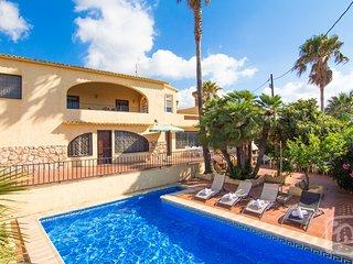 6 bedroom Villa in Calpe, Costa Blanca, Spain : ref 2031790, La Llobella