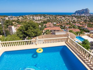 4 bedroom Villa in Calpe, Costa Blanca, Spain : ref 2031792, La Llobella