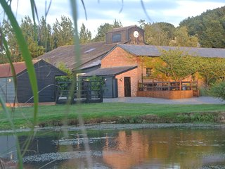The Granary & Yurts  at Suffolk Retreats. Sleep up to 24 guests in 5 properties.