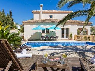 5 bedroom Villa in Benissa, Costa Blanca, Spain : ref 2031794, La Llobella