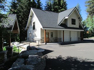 Cabin Fever is a Luxury Home on Payette Lake with Private Dock  & Sandy Beach, McCall