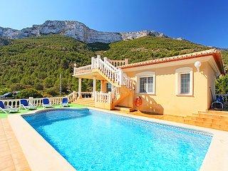 5 bedroom Villa in Denia, Costa Blanca, Spain : ref 2099629