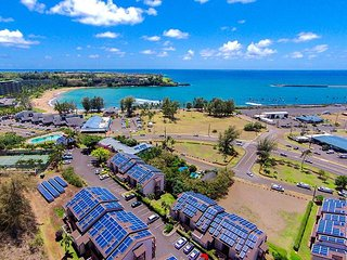 Banyan Harbor #F70: Nestled on a hillside overlooking Kalapaki Bay!, Lihue