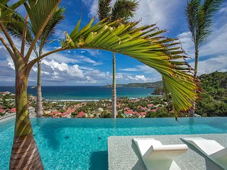 Breathtaking St Barts Luxury Ocean View Villa in Anse des Cayes