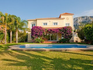 5 bedroom Villa in Denia, Costa Blanca, Spain : ref 2161452