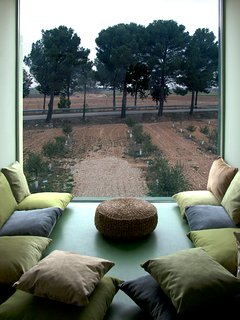Zona Chill out privada en cada apartamento rural