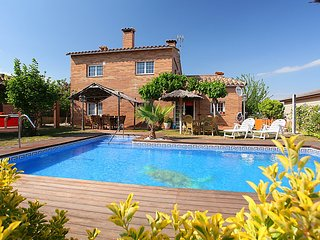 4 bedroom Villa in Tordera, Costa Brava, Spain : ref 2242383
