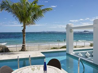 Ginger:3 bedr beachfront private villa at Coral Beach CLub| Island Properties