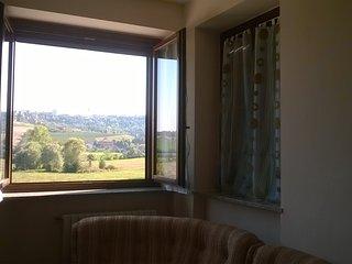 Villa posizionata tra le colline del Monferrato