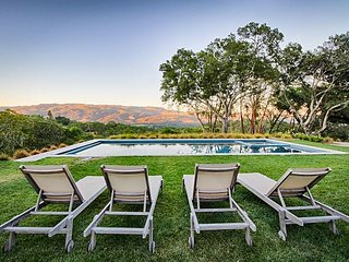 4-Acre Sonoma Valley Estate, Pool/Spa & Amazing Valley Views