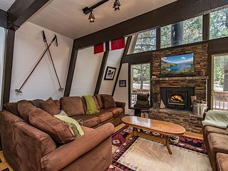 Great cabin in Tahoe Donner with incredible amenities